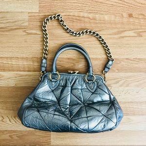 Marc Jacobs metallic patchwork stam bag